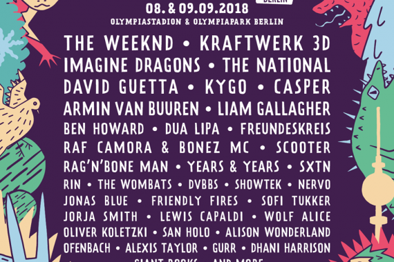 Le news di oggi: Lollapalooza Berlino, Haim, Fink, Trail Of Dead, Speedy Ortiz