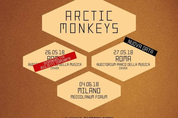 Le news di oggi: Arctic Monkeys, George Ezra, The Tallest Man On Earth, Shamir, Decemberists