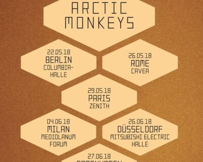 Breaking news: Arctic Monkeys
