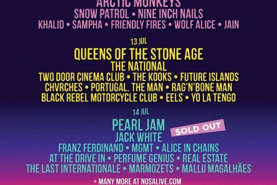 Festivalnews: NOS Alive, Primavera Oporto, Frequency, Gurten, Southside