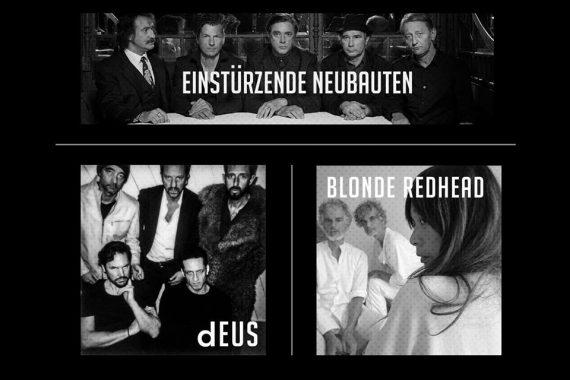 Le news di oggi: Einsturzende Neubauten + Deus + Blonde Redhead, NoFX, Dave Matthews Band, Years & Years, Anohni