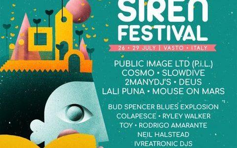 Le news di oggi: Siren Festival, Japandroids, Father John Misty, Mazzy Star, Morrissey