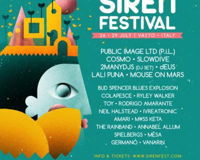 Festivalnews: Siren, TOdays, Ypsigrock, I-Days, Beaches Brew