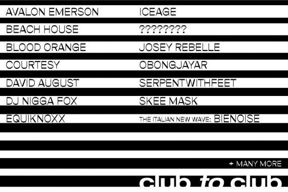 Festivalnews: Club To Club, Zurich OpenAir, OpenAir San Gallo, FIB Benicassim, NOS Alive, Rock En Seine