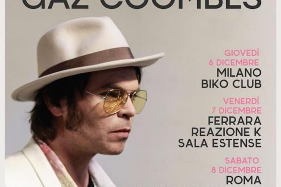Le news di oggi: Gaz Coombes, Jack White, Soap & Skin, Death Valley Girls, Firenze Rocks