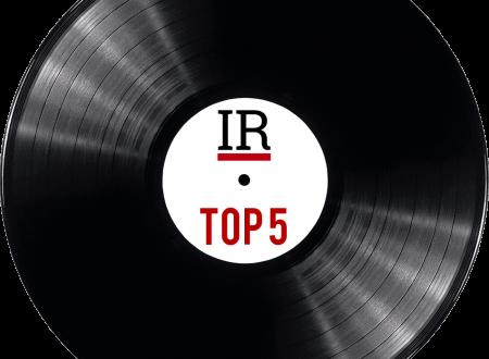 La Top 5 del mese: settembre 2018