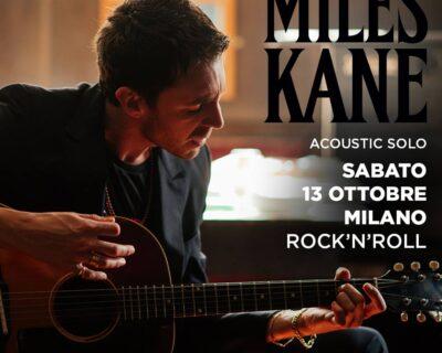 Breaking news: Miles Kane