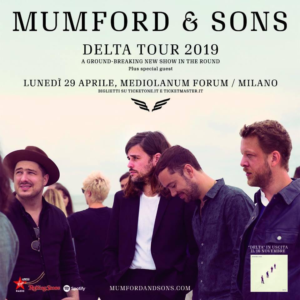 Mumford & Sons @ Forum, Assago (MI) @ Mediolanum Forum | Assago | Lombardia | Italia