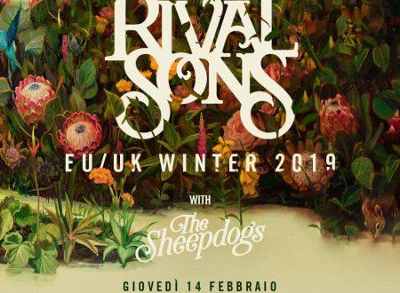 Le news di oggi: Rival Sons, Picture This, Rock En Seine, Juliana Hatfield
