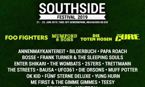 Le news di oggi: Southside, Patti Smith, Therapy?, Charlie Winston, My Bloody Valentine