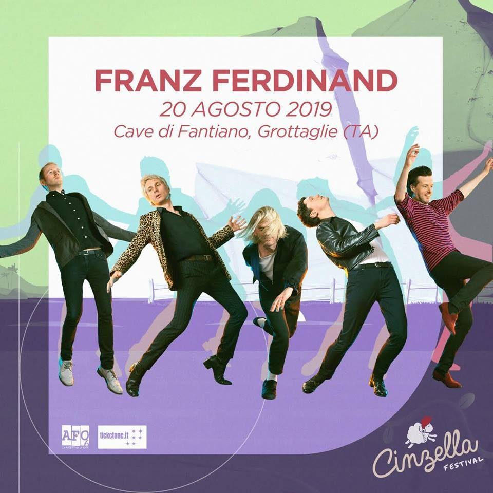 Franz Ferdinand @ Cinzella, Grottaglie (TA) @ Cinzella Festival | Puglia | Italia
