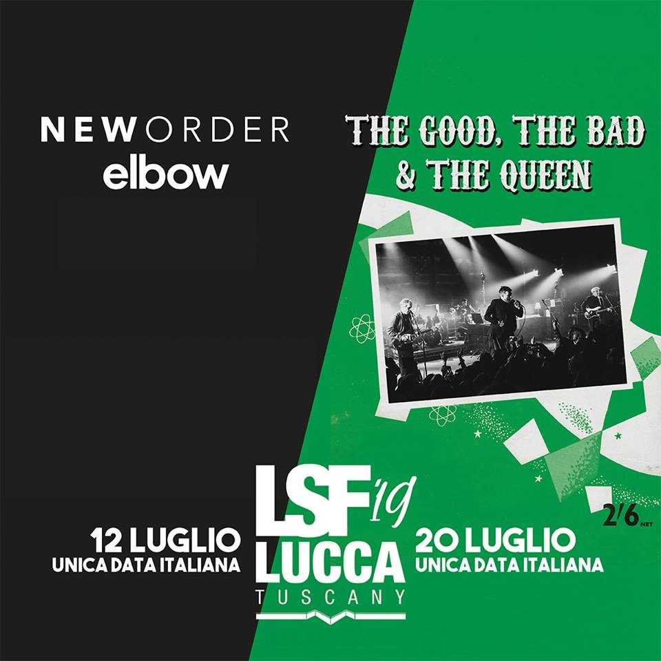The Good The Bad And The Queen @ Lucca Summer Festival, Lucca @ Lucca Summer Festival | Lucca | Toscana | Italia