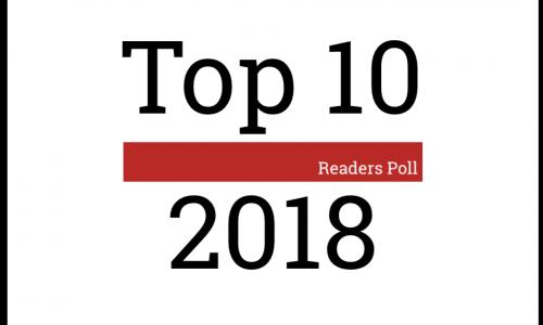 La Top 10 dei lettori: 2018