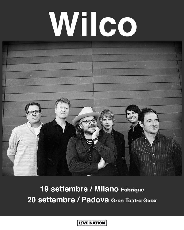 Wilco @ Gran Teatro Geox, Padova @ Gran Teatro Geox | Padova | Veneto | Italia