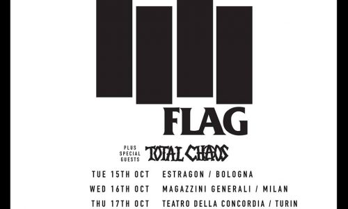 Le news di oggi: Black Flag, Cloud Nothings, Therapy, Fink
