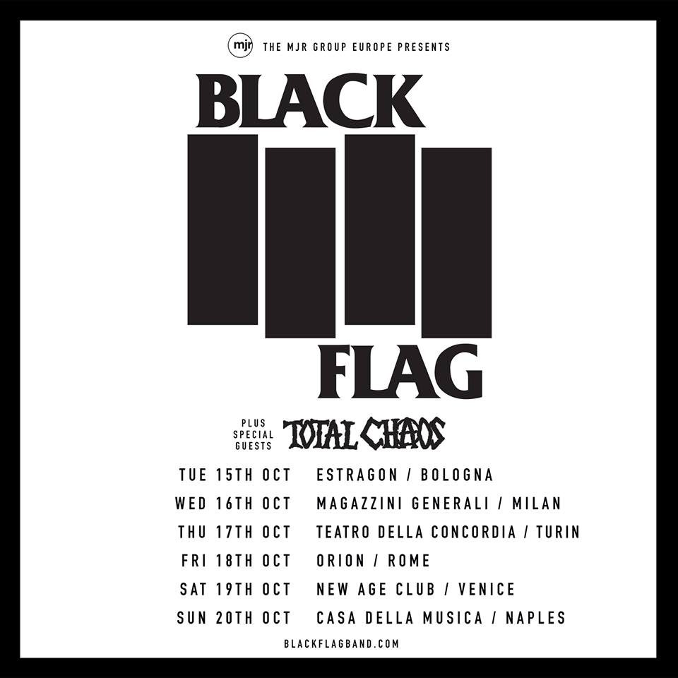 Black Flag @ New Age, Roncade (TV) @ New Age Club | Roncade | Italia