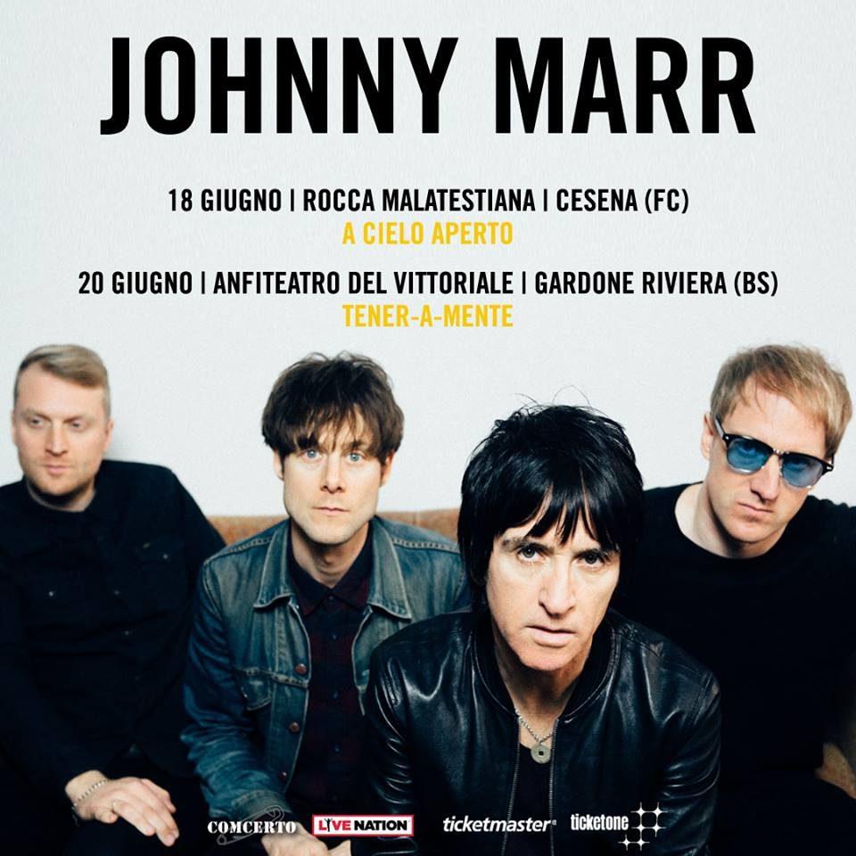Johnny Marr @ Acieloaperto, Cesena @ Rocca Malatestiana | Cesena | Emilia-Romagna | Italia