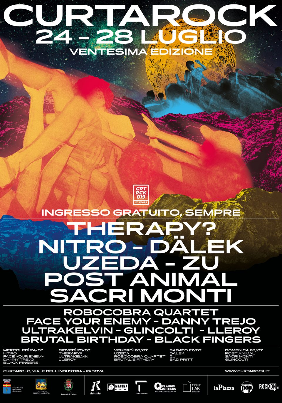 Therapy @ Curtarock, Curtarolo (PD) @ Curtarock Festival | Pieve | Veneto | Italia