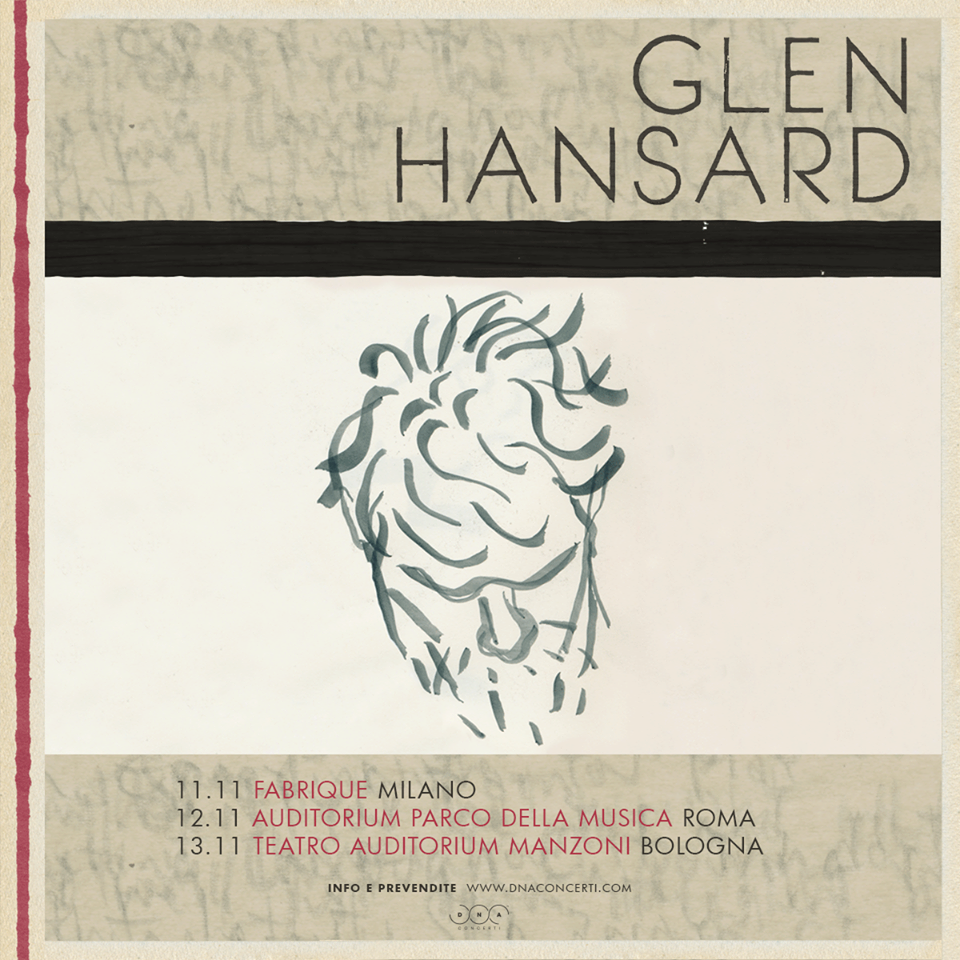 Glen Hansard @ Manzoni, Bologna @ Teatro Auditorium Manzoni | Bologna | Emilia-Romagna | Italia