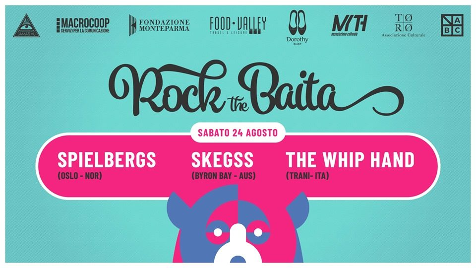 Spielbergs @ Rock The Baita, Calestano (PR) @ La Baita di Chiastre | Emilia-Romagna | Italia
