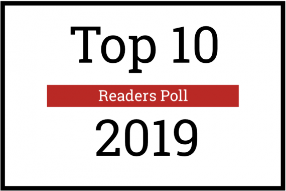 La Top 10 dei lettori: 2019