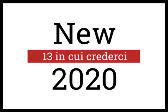 13 in cui crederci: nuove band per il 2020