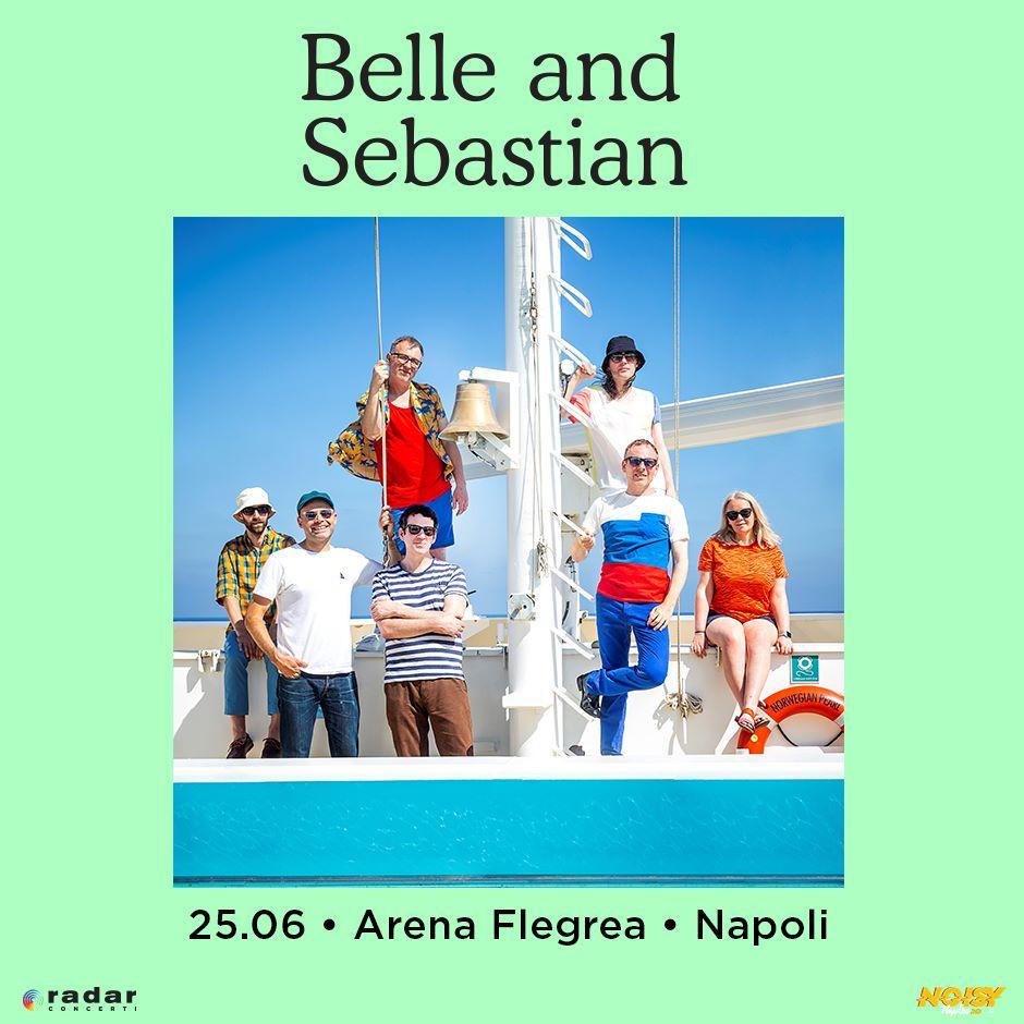 Belle And Sebastian @ Arena, Napoli @ Arena Flegrea | Napoli | Campania | Italia
