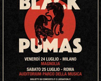 Le news di oggi: Black Pumas, Black Crowes, Psychedelic Furs, DMA's