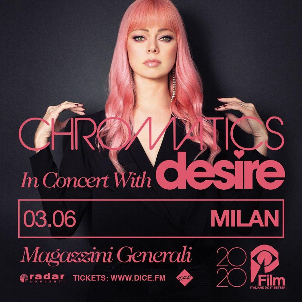 Chromatics @ Magazzini, Milano @ Magazzini Generali | Milano | Lombardia | Italia
