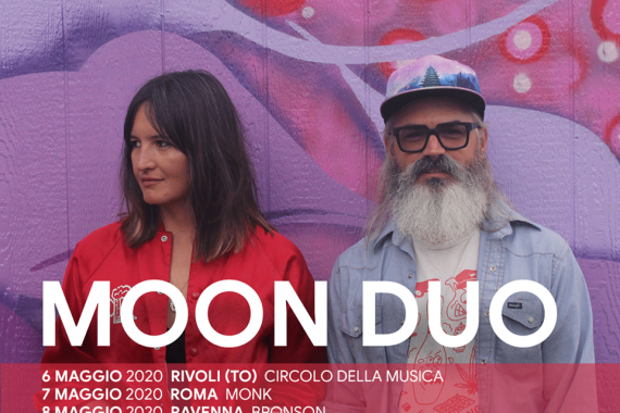 Le news di oggi: Moon Duo, God Is An Astronaut, Throwing Muses, Hinds, Primavera