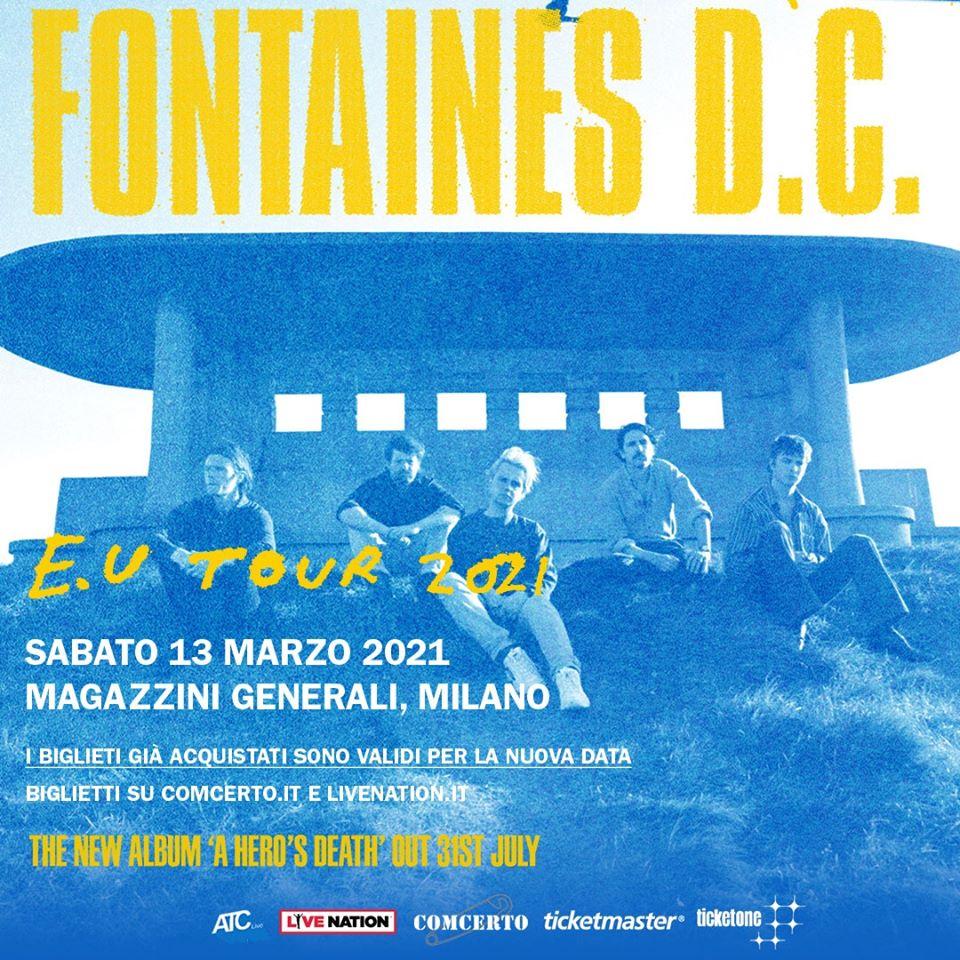 Fontaines D.C. @ Magazzini, Milano @ Magazzini Generali | Milano | Lombardia | Italia