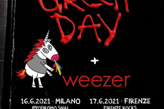 Le news di oggi: Green Day & Weezer, I-Days, GruVillage, Ohibò