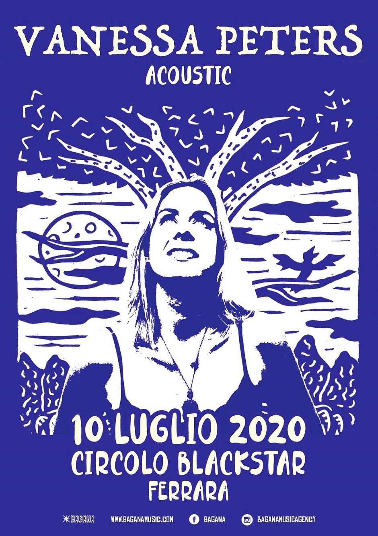 Vanessa Peters @ Blackstar, Ferrara @ Circolo Blackstar | Ferrara | Emilia-Romagna | Italia