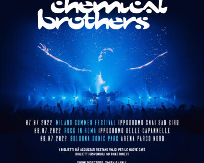 Nuovi concerti: Chemical Brothers, Joey Cape, Blackberry Smoke, Current Joys, LP, Sting, Idles
