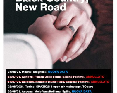 Nuovi concerti: Black Country New Road, Ben Harper, Curtis Harding, Natalie Bergman, The Howl And The Hum