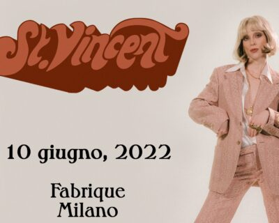 Nuovi concerti: St. Vincent, Eagles Of Death Metal, White Lies, Helmet, Tr/st, Isle Of Wight