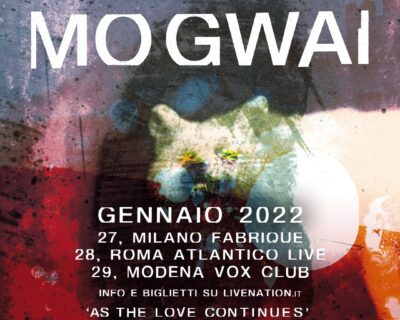 Nuovi concerti: Mogwai, Counting Crows, Calexico, Jethro Tull, Maifeld Derby